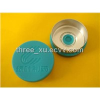 customer logo Flip cap Tear off Caps Seals,  for Injectables Injection packaging.