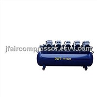dental air compressor for 10 units