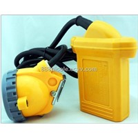electric safety lamp for mining