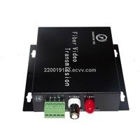 fiber optical digital video transmitter and receiver converter
