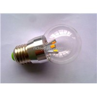 high cost performance LED candle light with E14/E27 3W bulb high luminance lighting