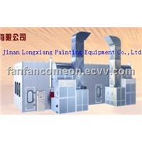 industrial paint booth