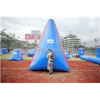 inflatable paintball tombstones bunkers