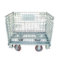 junior folding wire mesh container