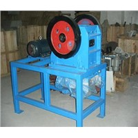laboratory ore dressing sealed jaw crusher