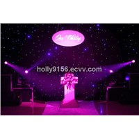 led star curtain for wedding