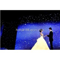 led star curtains for wedding