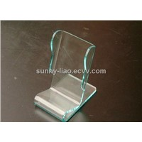 lucite cell phone display