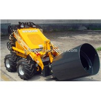 mini loader with mixer