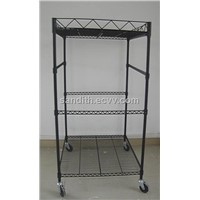 movable store display stand
