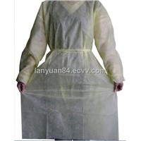 non woven isolation gown