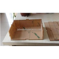 paper box/wood box/acrylic box laser cutting machine-cartoon card laser engraver