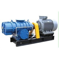 roots blower used for boiler emission