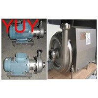 sanitary food centrifugal pump/milk pump