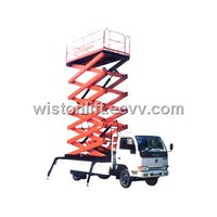 scissor car lift