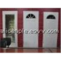 tempered glass inserts doors, frosted glass inserted door