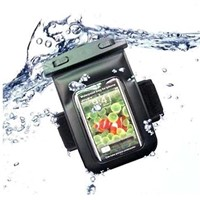 waterproof bag with belt for iphone4/4s