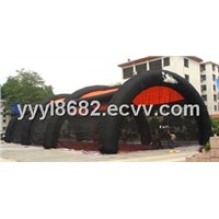 Inflatable Paintball Arena with Bunkers for Paintball Games