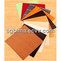 Colorful Melamined MDF for Melamine MDF Board or Decoration