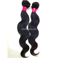 durable nonprocessed virgin hair weft Indian remy hair wholesale
