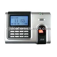 Fingerprint Access Control-Cj-a10 Fingerprint Standalone Time Attendance