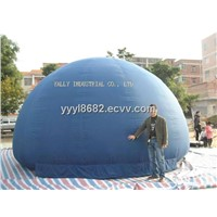 inflatable planetarium dome tent for school education from manufacture