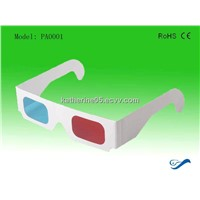 paper red cyan 3d glasses with cheap price