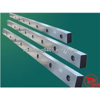 shearing blades for hydraulic shearing machines in sheet metal cutting industry