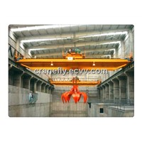 top selling 5-20t overhead travelling crane with grab