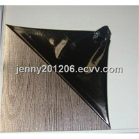 wood pattern stainless steel etching sheet