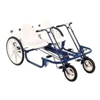 "Double Joy Rider 24"" Special Needs Quad Bike Bike"