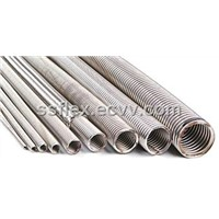 stainless steel corrugated flexible tube hose pipe for industrial purpose