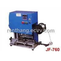 Jumper Wire Forming Machine - No Waste, One Lead Length Adjustable, Punching method