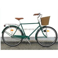 "Men dutch bicycle/28""Gent city bike/28""omafiets"