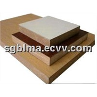 1220*2440 Plain / Laminated Melamine MDF for Indoor Furniture with CARB,CE,SGS Certification