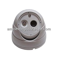 30 Meters Vandalproof Array IR LED Color IR Dome Camera