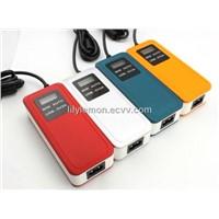 90W colorful Auto Universal laptop adapter