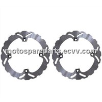 CNC Solid Motorcycle Brake Disc Rotors for Suzuki DL V-Strom 650cc 04-08 Year