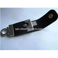 Competitive 2GB 8GB 16GB 32GB Price Hot-Selling Leather USB Flash Disk