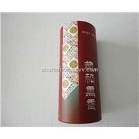 Cylindrical Gift Box / Tea Box