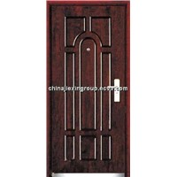 Fire Rated Steel Wooden Armored Security Door