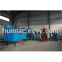 Foam concrete lightweight brick machine