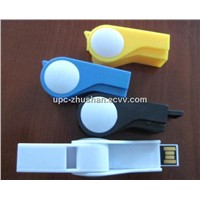 Free Shipping OEM Gifts Whistle USB Flash Drive