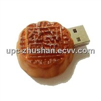 Promotional Gifts Moon Cake USB 2.0 Flash Memory Driver