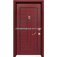 Steel Wood Armored Security Door (TA336)