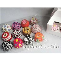 1000 Pcs cupcake liners baking cups cake tools gift box for cupcake decoration