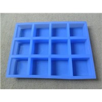 12 Cups silicone soap