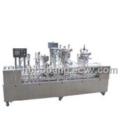220V/50Hz/1.5kW Automatic Cup and Cone Hard Ice Cream Filling Machine with 4,800 Cups/Hour