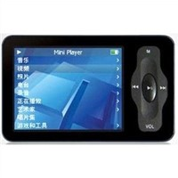 2.4 Inch Touch Mini MP4 Player 16gb with AV Out, FM Radio