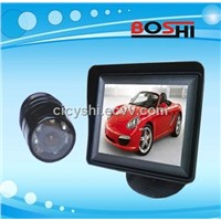 3.5 inch mini car reversing system with digital minitor and waterproof camera